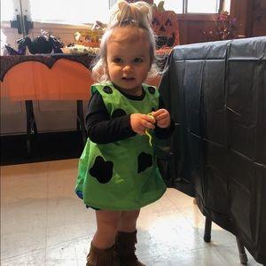 Pebbles Flintstone baby/toddler costume